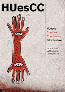 cartel HUesCC sin colabo en baja